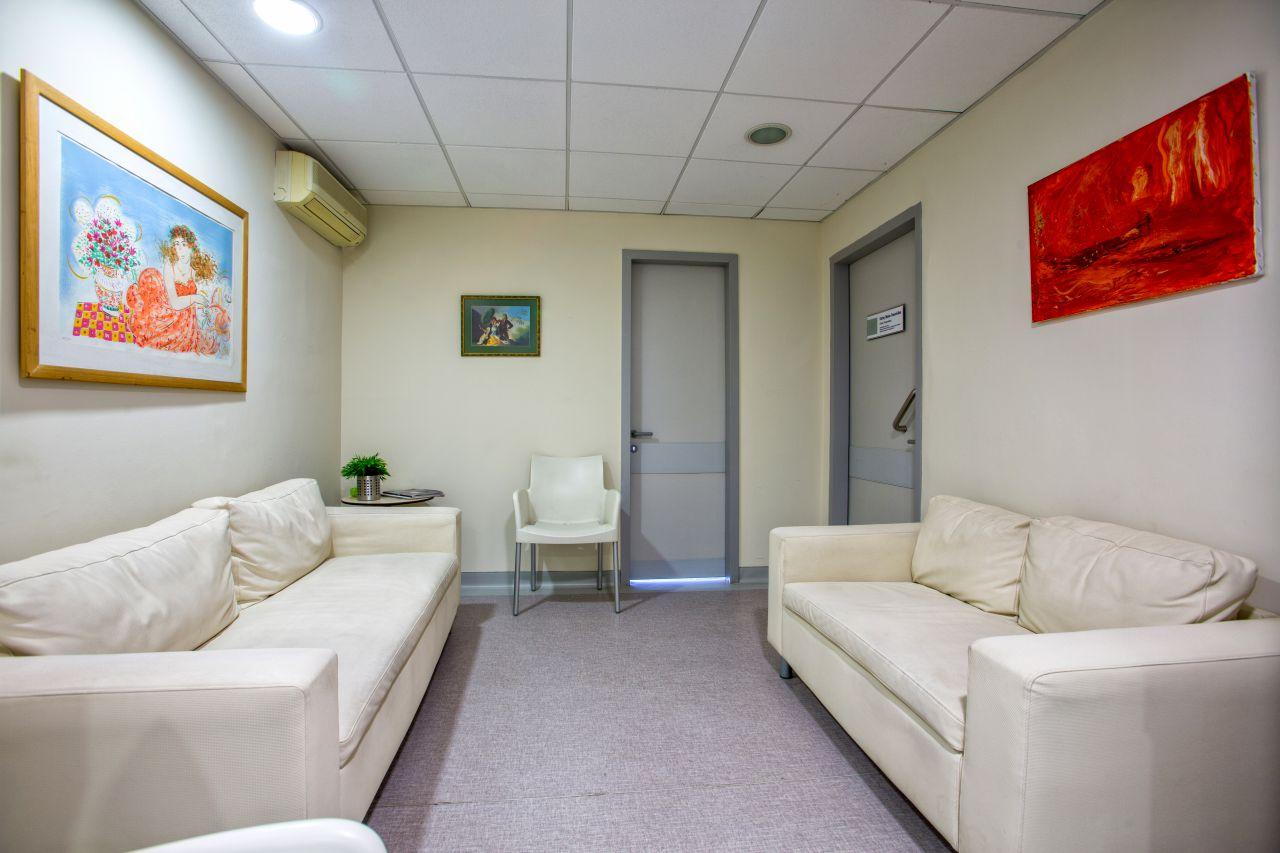 Χώρος αναμονής ασθενών - επισκεπτών